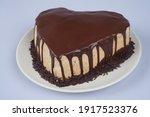 Homemade Mocha Cake For...