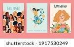 international women's day. set...   Shutterstock .eps vector #1917530249