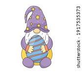 easter gnome.  gnomes. easter...   Shutterstock .eps vector #1917535373