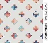 modern vector abstract seamless ... | Shutterstock .eps vector #1917611693
