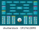 match schedule  template for... | Shutterstock .eps vector #1917612890