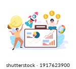 top management seo professional ... | Shutterstock .eps vector #1917623900