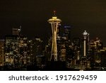 Seattle City Skyline At Night....