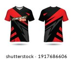 sports racing  jersey design... | Shutterstock .eps vector #1917686606