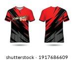 sports racing  jersey design... | Shutterstock .eps vector #1917686609