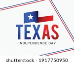 texas independence day poster...   Shutterstock .eps vector #1917750950
