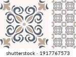 portuguese and spain decor.... | Shutterstock .eps vector #1917767573