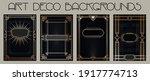 art deco backgrounds  1920s  ... | Shutterstock .eps vector #1917774713