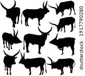 vector illustartion of ankole...   Shutterstock .eps vector #1917790280