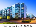 house building and city... | Shutterstock . vector #191780294