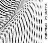 abstract halftone wave dotted... | Shutterstock .eps vector #1917805946