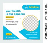 health  medical service social... | Shutterstock .eps vector #1917815183
