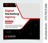 digital marketing expert social ...   Shutterstock .eps vector #1917815186