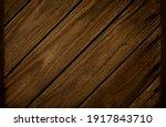 brown wood texture. dark wooden ... | Shutterstock . vector #1917843710