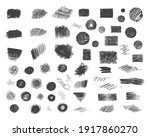 big set of hand drawn pencil... | Shutterstock .eps vector #1917860270