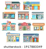 shop and store building... | Shutterstock .eps vector #1917883349