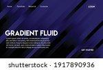 blue color web page design...