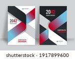 corporate book cover design... | Shutterstock .eps vector #1917899600