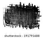 gray scale watercolor macro... | Shutterstock . vector #191791688