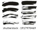 round sponge thin artist brush... | Shutterstock .eps vector #1917970469