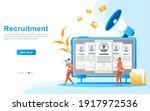 online recruitment of worker...