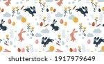 lovely hand drawn easter... | Shutterstock .eps vector #1917979649