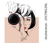 Digital Illustration Of The...