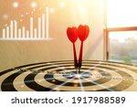 success goals targeting the... | Shutterstock . vector #1917988589