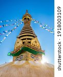 Swayambhunath Temple With...