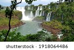 Iguazu Falls stretch for 2.7 km and include hundreds of other waterfalls. All around the falls is the Iguazú National Park, a subtropical rainforest full of wildlife