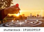 success goals targeting the... | Shutterstock . vector #1918109519
