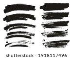 round sponge thin artist brush...   Shutterstock .eps vector #1918117496