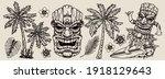 surfing vintage composition... | Shutterstock .eps vector #1918129643