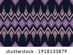 geometric ethnic oriental ikat...   Shutterstock .eps vector #1918133879
