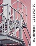 metal construction. iron... | Shutterstock . vector #1918143410