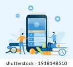 vector illustration design...   Shutterstock .eps vector #1918148510