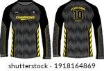 long sleeve racing t shirt ...   Shutterstock .eps vector #1918164869