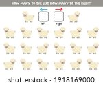 left or right puzzle with cute... | Shutterstock .eps vector #1918169000