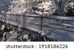 Bizarre Looking Frozen Bridge...