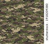 digital camouflage seamless... | Shutterstock .eps vector #1918209380