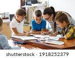 Female Teacher Helps School...