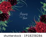 luxury  stylish floral... | Shutterstock .eps vector #1918258286