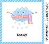 vector illustration. cloud in... | Shutterstock .eps vector #1918267580
