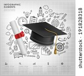 banner,bar,brochure,chart,commercial,concept,creative,design,draw,education,elements,for,graduation,graphic,grown