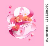 march 8 international women's... | Shutterstock .eps vector #1918286090