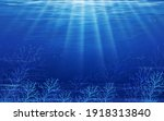 Underwater Sea With Wave In...
