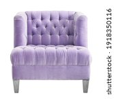 Tufted Accent Chair Isolated....