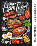 food poster  ad  fast food  set ...   Shutterstock .eps vector #1918366856