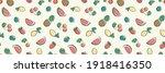 horizontal seamless pattern... | Shutterstock .eps vector #1918416350