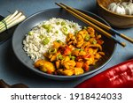 chinese sweet and sour chicken...